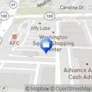 Map JCPenney Washington, United States