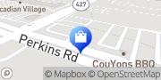 Map Mattress Firm Perkins Plaza Baton Rouge, United States