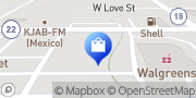 Map Goody's Mexico, United States