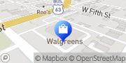 Map Walgreens Ottumwa, United States