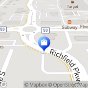Map Target Richfield, United States