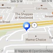 Map Restwell Mattress Factory Saint Louis Park, United States