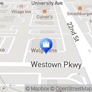 Map Walgreens West Des Moines, United States