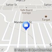 Map Target Omaha, United States