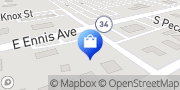 Map AT&T Store Ennis, United States