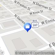 Map Walgreens Ennis, United States