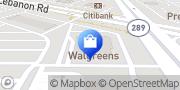 Map Walgreens Frisco, United States