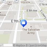 Map Salvation Army Thrift Store Stillwater, United States