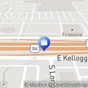 Map Alltel Wichita, United States