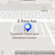 Map Goodwill Midwest City, United States