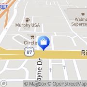 Map Payless ShoeSource San Antonio, United States