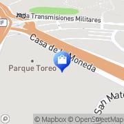 Map Lux Parque Toreo Naucalpan de Juárez, Mexico
