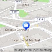 Carte de Horlogerie Service Angoulême, France