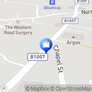 Map Clarks Shoes Billericay, United Kingdom