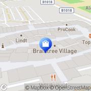 Map Clarks Shoes - Factory Shop Braintree, United Kingdom
