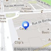 Carte de New Man Tours, France