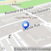 Carte de Boucherie Dieppe, France