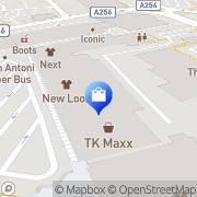 Map JD Sports Thanet District, United Kingdom