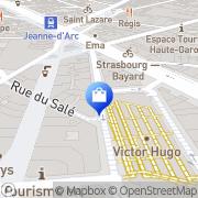 Carte de Comptoir Général du Rasoir Toulouse, France