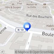 Carte de C'est votre Entreprise? Accès Professionnels Chartres, France
