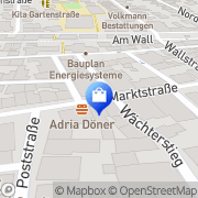 Karte Süßes Kaufhaus Burgdorf, Deutschland