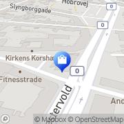 Kort Jernbane Apoteket Randers Randers, Danmark