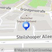 Karte Netto Filiale Hamburg, Deutschland