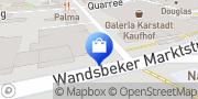 Karte o2 Shop Hamburg, Deutschland