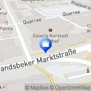 Karte Apollo-Optik Hamburg, Deutschland