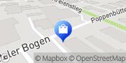 Karte Bürosysteme INTERHANSA Hamburg, Deutschland