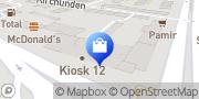 Karte OK STORE Hamburg, Deutschland