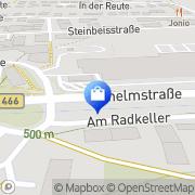 Karte Kaufland Heidenheim, Deutschland