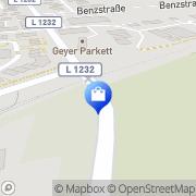 Karte Süd-West Versand GmbH Langenau, Deutschland