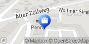 Karte PENNY-Markt Discounter Hamburg, Deutschland