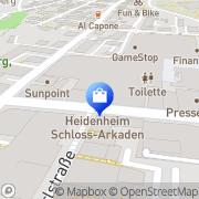 Karte Vero Moda Heidenheim, Deutschland