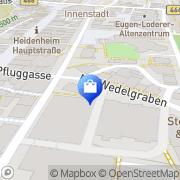 Karte D2-Mannesmann Shop Heidenheim, Deutschland