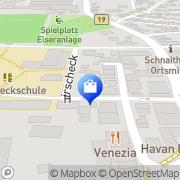 Karte Willi Gros Heidenheim, Deutschland