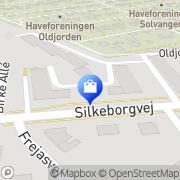 Kort Stokke Center Åbo, Danmark