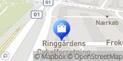 Kort Ringgaardens Cykelforretning Århus, Danmark