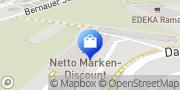 Karte Netto Filiale Herbrechtingen, Deutschland