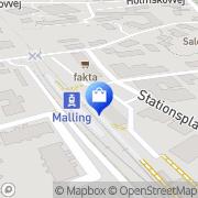 Kort Malling Apotek Malling, Danmark