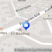 Kort Fri Cykler Århus, Danmark
