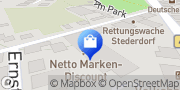 Karte Netto Filiale Peine, Deutschland