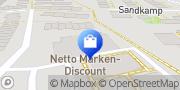 Karte Netto Filiale Reinbek, Deutschland