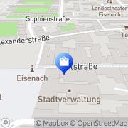 Karte Le Flair de L'Art Eisenach, Deutschland