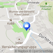 Karte Feuerwehrgerätehaus Ruhla, Deutschland