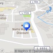 Karte Netto Filiale Trusetal, Deutschland