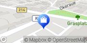 Karte PENNY-Markt Discounter Braunschweig, Deutschland