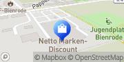 Karte Netto Filiale Braunschweig, Deutschland