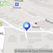 Karte Netto Filiale Themar, Deutschland
